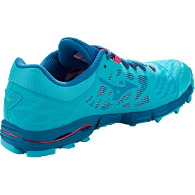 Mizuno Wave Hayate 5 Running Shoes Women, peacock blue/estate blue/bright rose